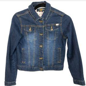 LUCKY Brand Cropped Denim Jean Jacket